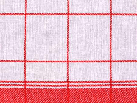 dishcloth: Checkered cloth