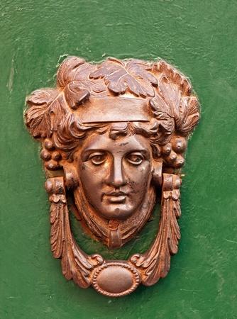 doorknocker: Beautiful bronze doorknocker