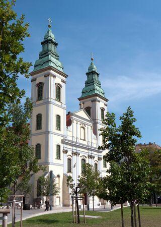 parish: Inner City parish church, Budapest, Hungary