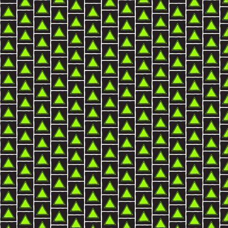 Abstract triangle pattern - background texture green line