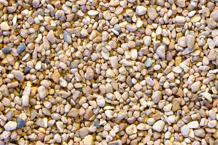 A texture background of pebble rocks
