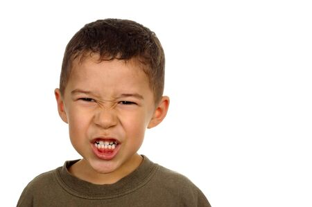 boy with angry expression Stock Photo - 2094061