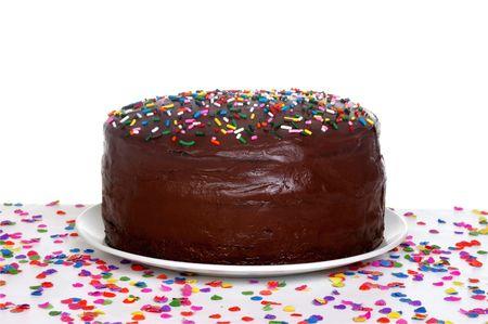 scrumptious: Chocolate birthday cake