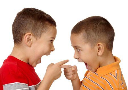 kids argument, 5 en 6 jaar oud