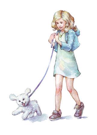 12,152 Girl Walking Stock Vector Illustration And Royalty Free ...
