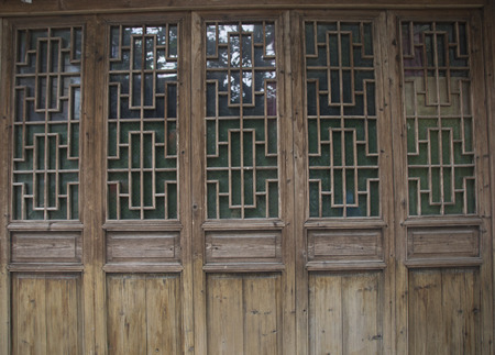 windows and doors: chinese wooden  windows and doors