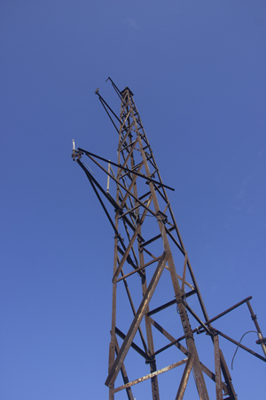 light transmission: transmission tower