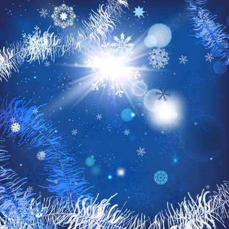 Vector illustration of beautiful christmas balls