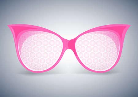 facet: facet sunglasses pink