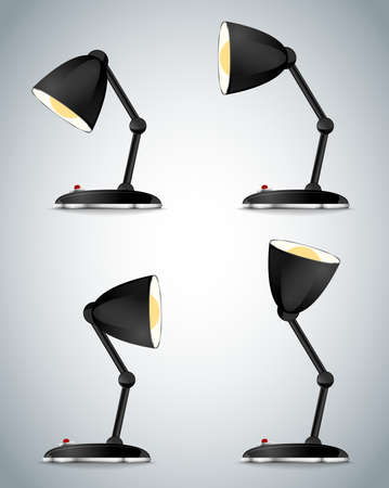 lamp retro table