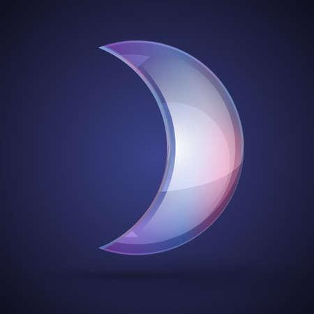 moonwalk: soap bubble on dark background