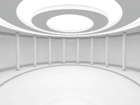 skylight: interior 3D rendering