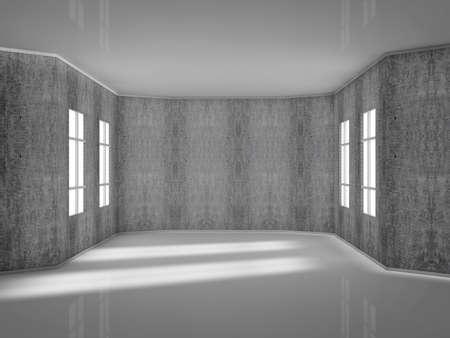 render modern room Stock Photo