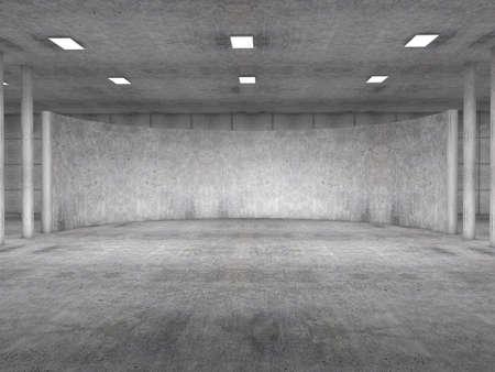parking empty concrete