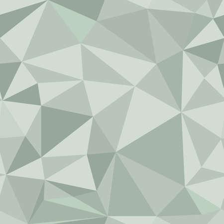 Polygonal seamless pattern. Vector background.