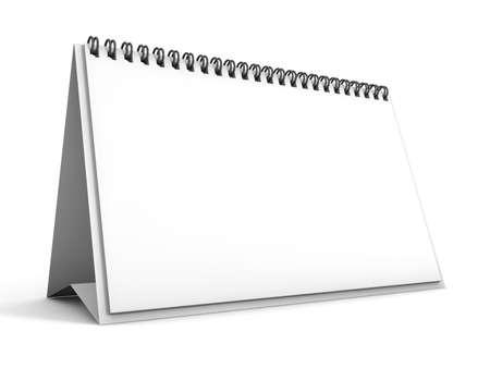 カレンダー 3 D レンダリング