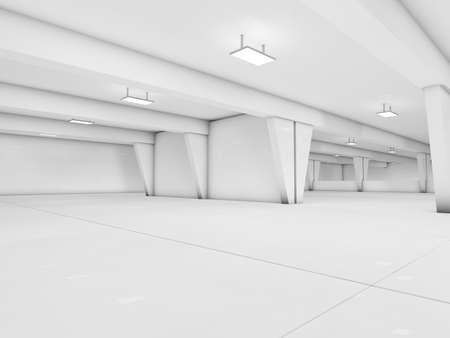 parking 3D rendering