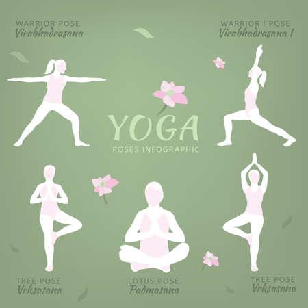 Vector Yoga Illustration Vector