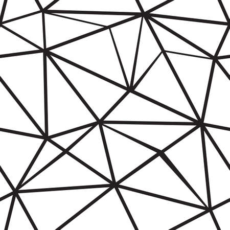 fragment: Polygonal seamless pattern. Vector background.