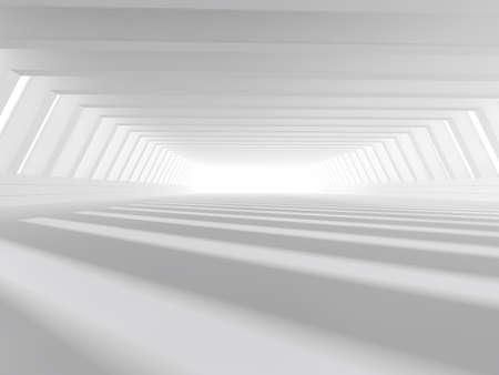 concrete: Fondo moderno arquitectura abstracta, vacía el interior blanco el espacio abierto con ventanas y paredes de hormigón gris, 3D