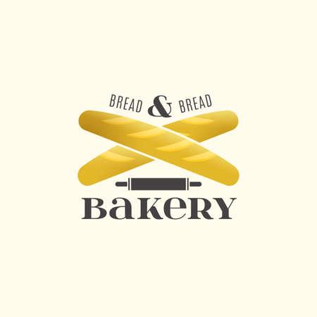 pone: Vector editable illustration of beautiful bakery  Illustration