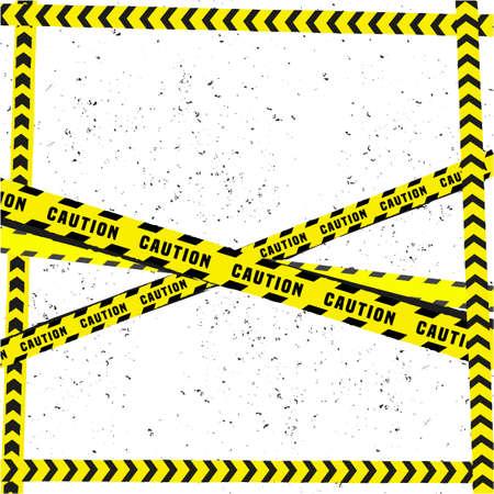 danger: Vector illustration of danger line tracks grunge template. Modern background for poster, print, flyer, book, booklet, brochure and leaflet design.