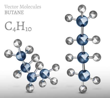 butane: Butane Molecules SET