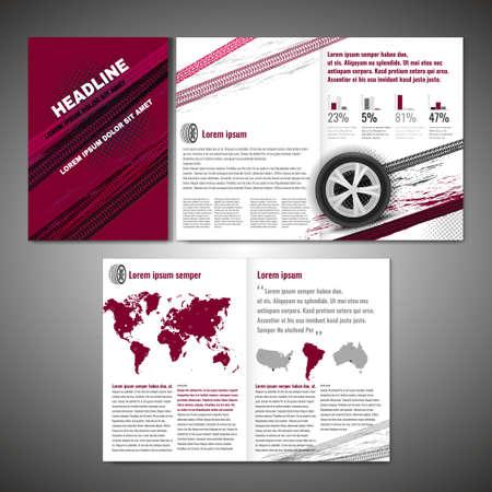 design: Tyre Brochure Design