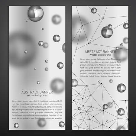 methane: Silver Particles Banners