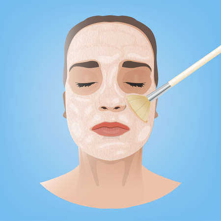 esthetics: Cosmetological Face Image