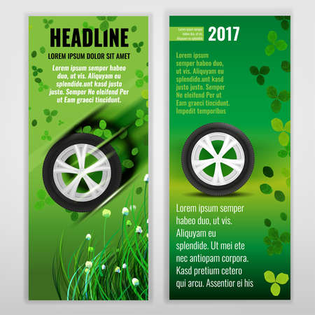 tire cover: Ecological Tire banners