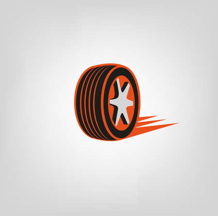 tire cover: Tire Shop Logo