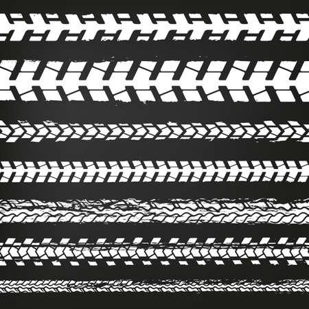 tread: Motorcycle Tire Tracks-02