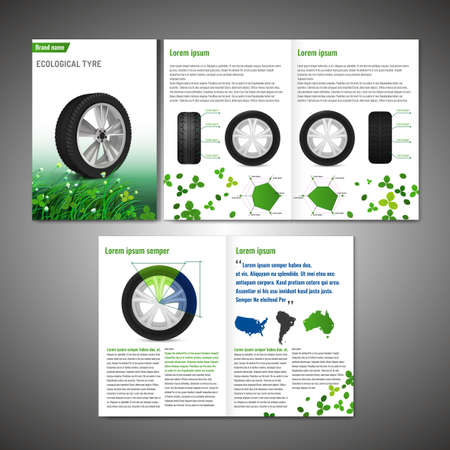 tire cover: Tyre Brochure Design