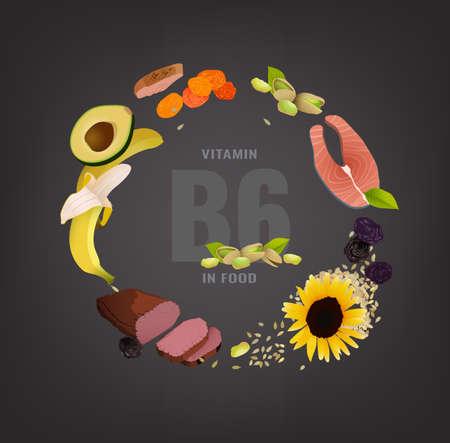 Vitamine Creatieve Achtergrond