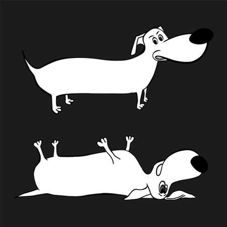 Dog Character Image Illustration