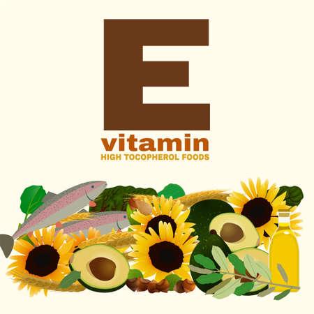 High vitamin E foods.