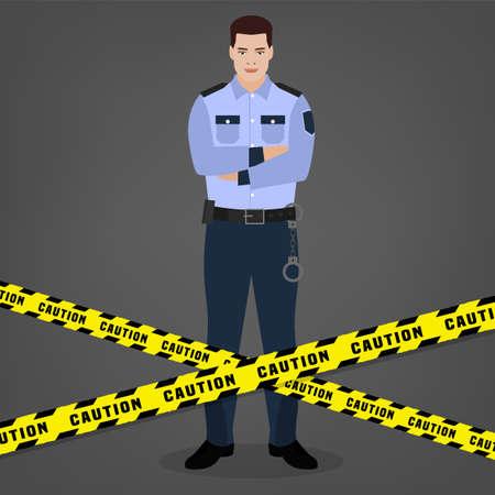 Police officer image.