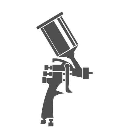 Spuitpistool pictogram