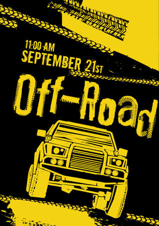 Off road event poster