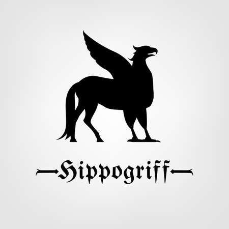 Beautiful hippogriff  icon