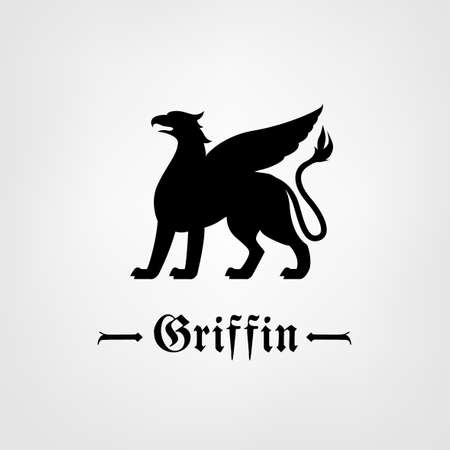 classical mythology character: Vector Griffin Image
