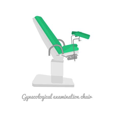 Gynecological examination chair