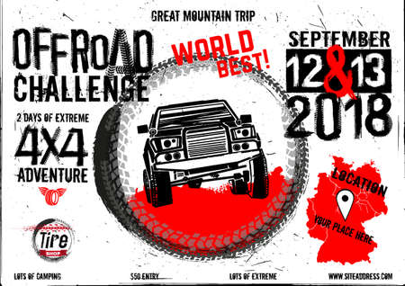 Offroad event poster