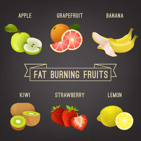 Fat burning fruits.