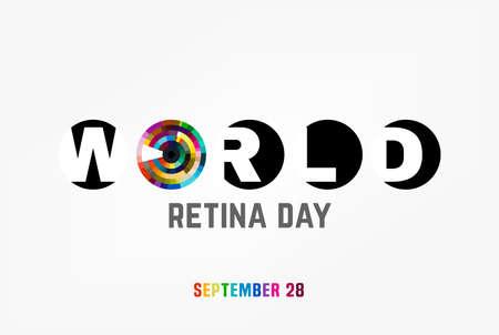 September 28 - world retina day.