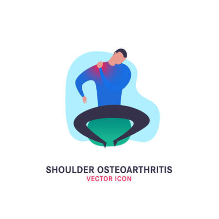 Shoulder osteoarthritis icon