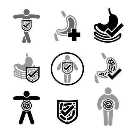 Icono de probióticos Lactobacillus