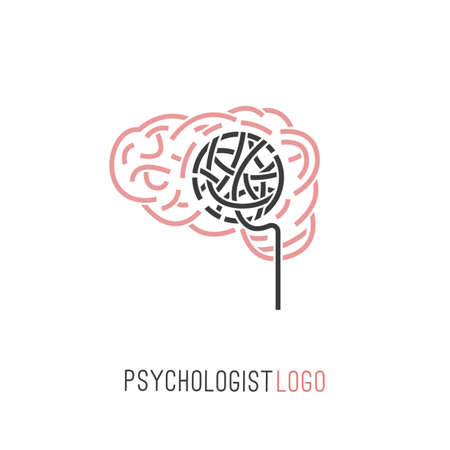 Psychologist and psychotherapist icon