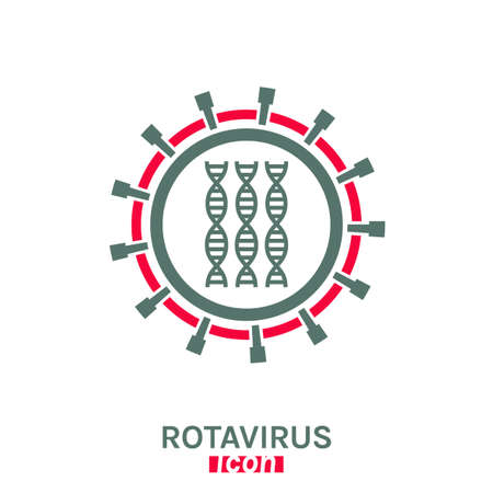 Rotavirus vector pictogram